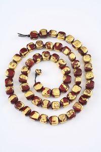 שרשרת זהב אדום