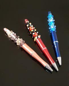 עט מתנה עם חרוזי זכוכית